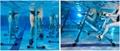 Swimming pool Water rider aquatic exercise bikes water aqua bicycle