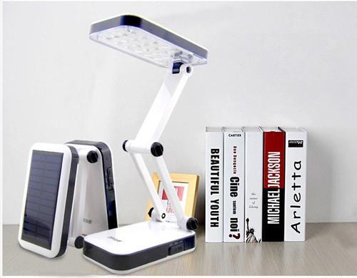 Solar camping desk lamp  2