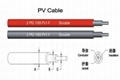 2.5/4mm/6mm square single-core photovoltaic PV cable
