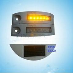 Aluminum solar stair corn light