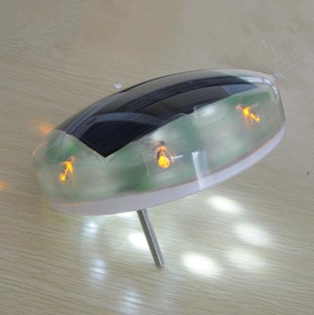 360 Degree LED Solar cone  solar warning light 1