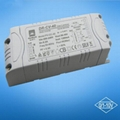 40W 0-10v constant volt dimming led driver transformer