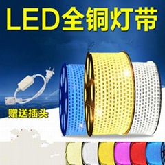 Led strip tape light