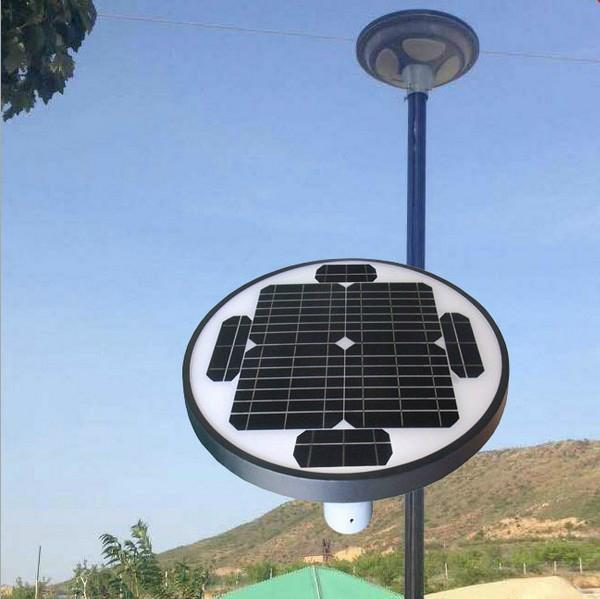 30W UFO All in one  solar garden yard square light