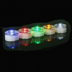 Solar dock underground border lights