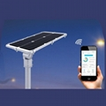 30W Integrated solar street lighting