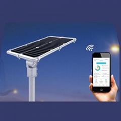 30W Integrated solar street lighting