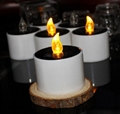 Solar led candle light