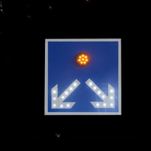 Solar traffic sign 4