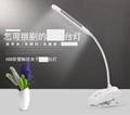 Clip solar reading desk lamp lights