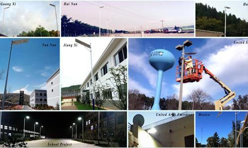 30 watt all in one solar led street lamp light 5