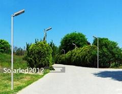 60w Integrated Solar led park pathway light