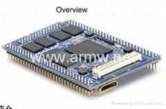 Tiny210 S5PV210 ARM Cortex-A8 +512MB DDR2 RAM+ 256MB SLC Flash Stamp Module CPU