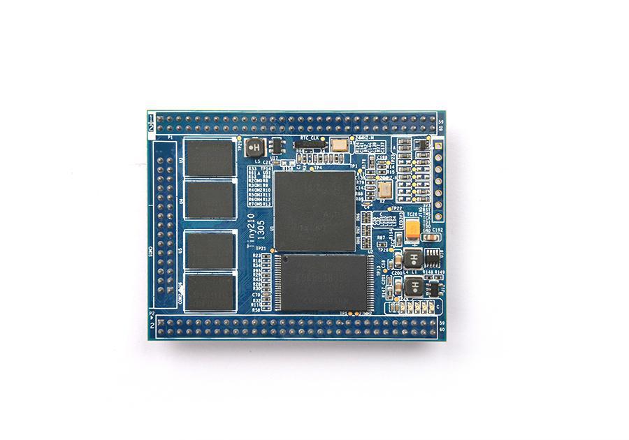 Tiny210 S5PV210 ARM Cortex-A8 +512MB DDR2 RAM+ 256MB SLC Flash Stamp Module CPU  3