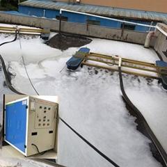 河道曝氣機污水處理廠脫色脫氮增氧除臭除藻專用曝氣設備