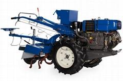Two wheel tractor, 12hp walking tractor, model MX111