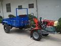 Transport tractor, two wheel tractor, power tiller, model MX181JY