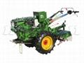Walking tractor, electric starting type,
