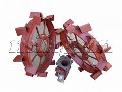 100-640 anti-skid wheel of power tiller