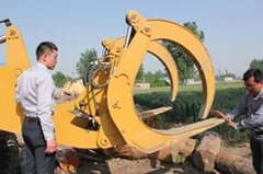 Wheel loader multipurpose bucket