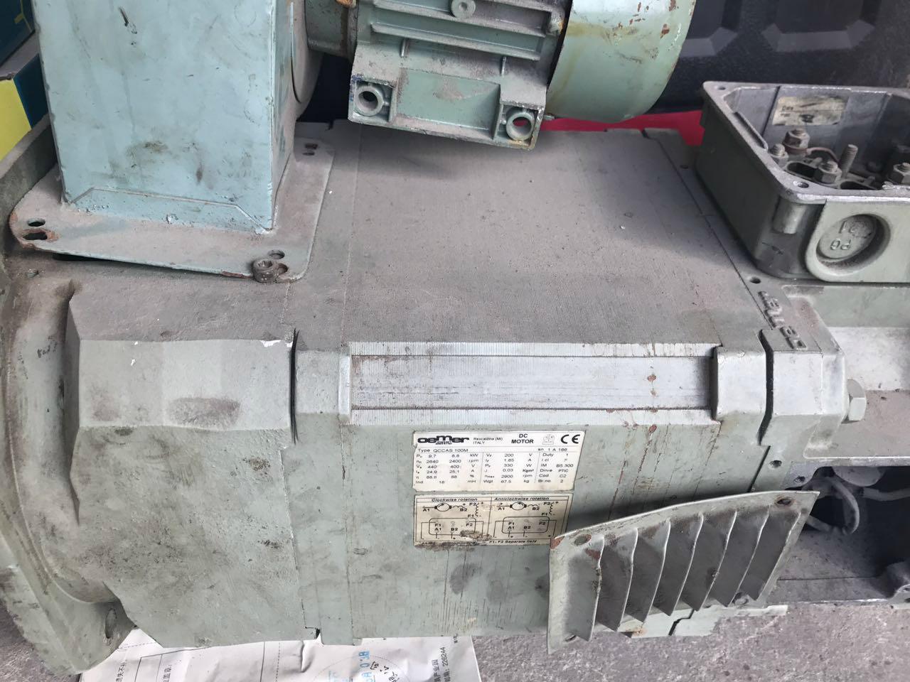 oemer qccas 100m 8.8kw直流电机出售维修 1