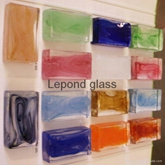 solid glass brick