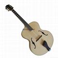 Handmade Non-cutaway Jazz Guitar