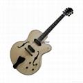 Handmade jazz guitar 1