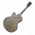 Handmade jazz guitar 2