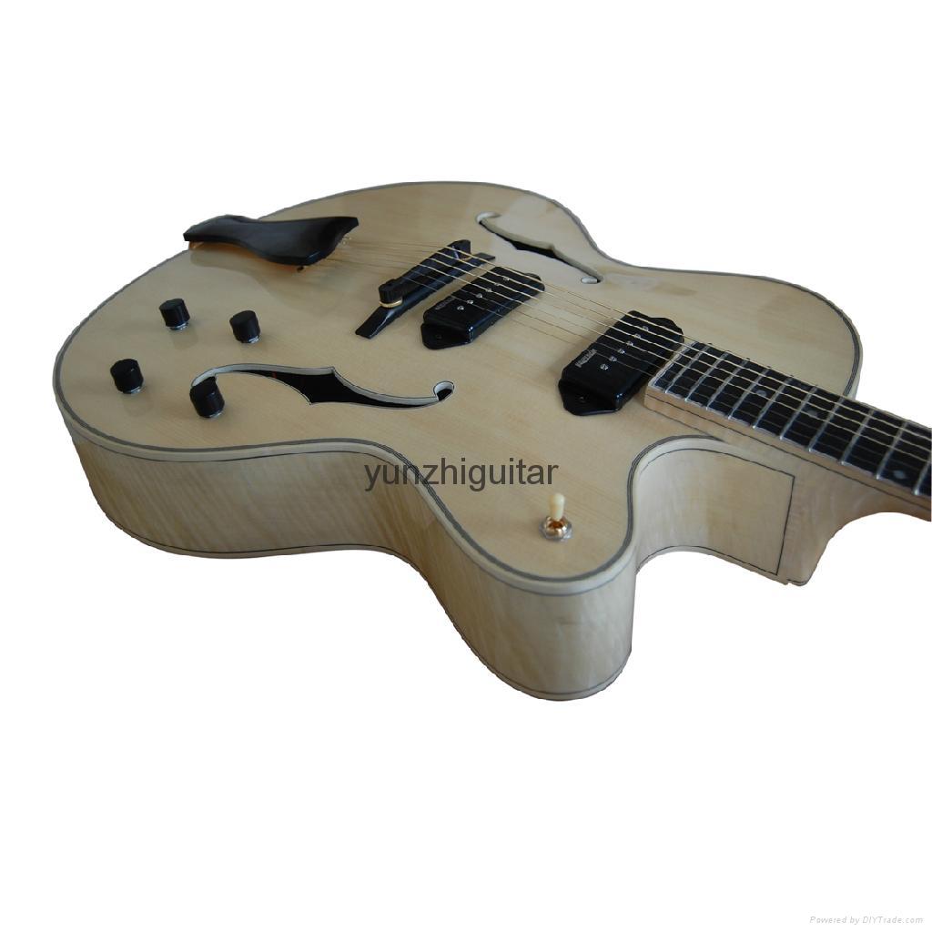 Handmade jazz guitar 3