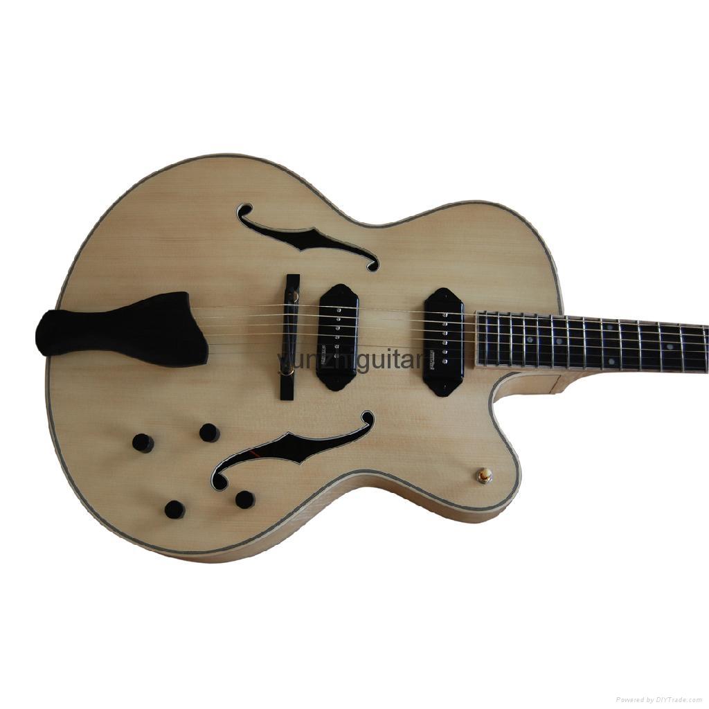 Handmade jazz guitar 5