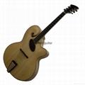 Mandolin style jazz guitar