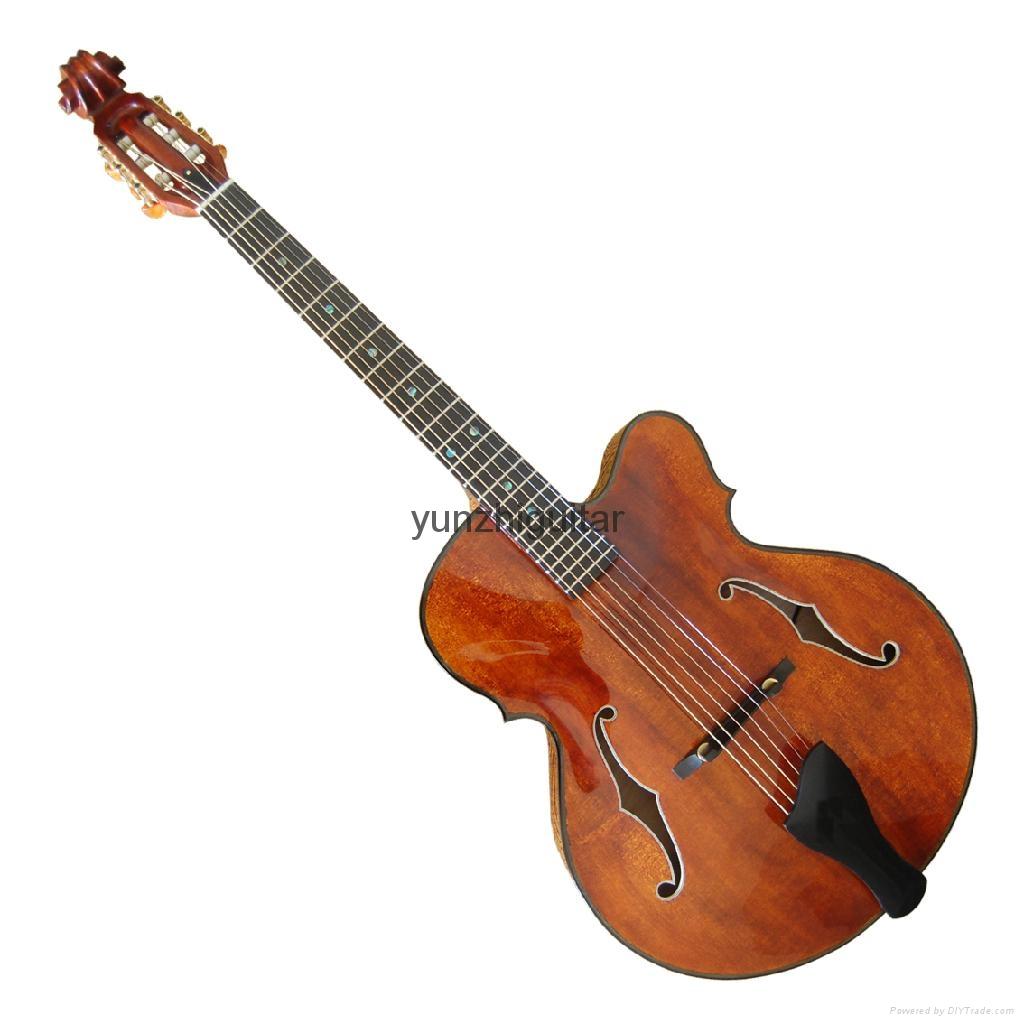 Violin style jazz guitar 1