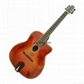 Handmade gypsy guitar