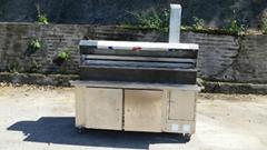 无烟烧烤车 木炭无烟烧烤机 不锈钢无烟烧烤车 无烟净化设备