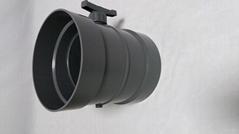通丰PVC手动风阀 PVC风阀 手动风阀排风管配件 塑料风阀