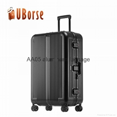 17''20''24''28'' Worthy import aluminum suitcase luggage for bag travel trolley