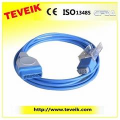 GE Marquette SpO2 adapter cable