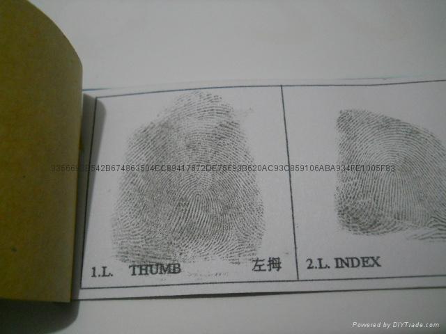 单指捺印盒软质 2