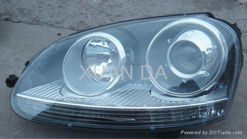 Vw golf 5 xenon headlight 7 hong kong manufacturer - Car exterior decoration accessories ...