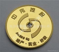 黄金纪念章