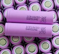三星2600mah18650锂电池