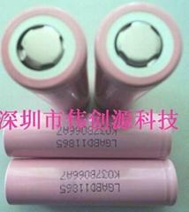 供应全新原装LG18650-2600mah锂电池