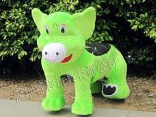 广场儿童毛绒电动玩具车多少钱一台 4