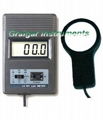 Digital LUX Meter LX-101,0-5000LUX,3 Ranges ,Photo Diode &Multi-color Correction
