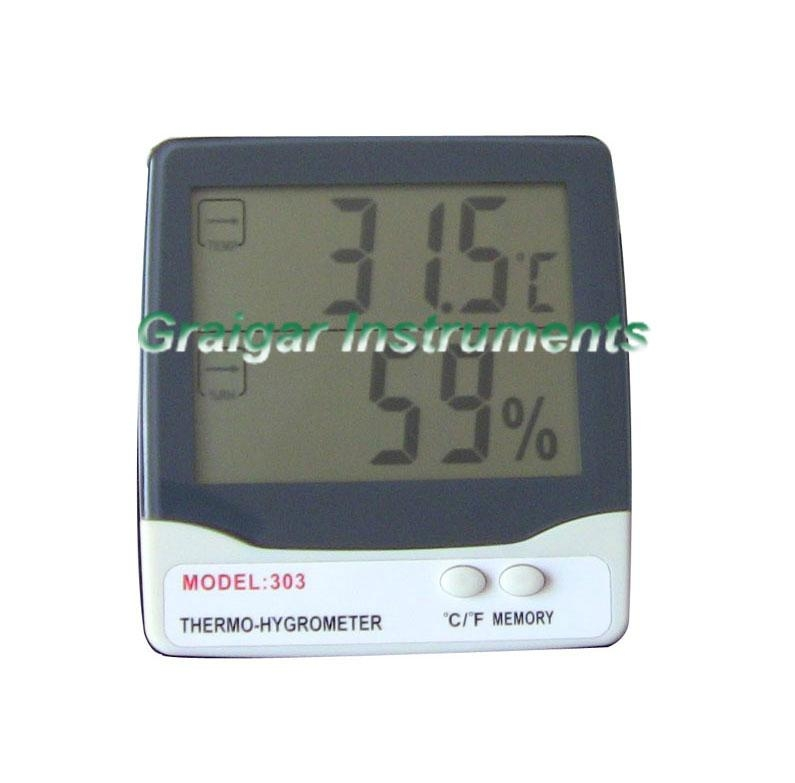 Thermo-Hygrometer GR-303  1
