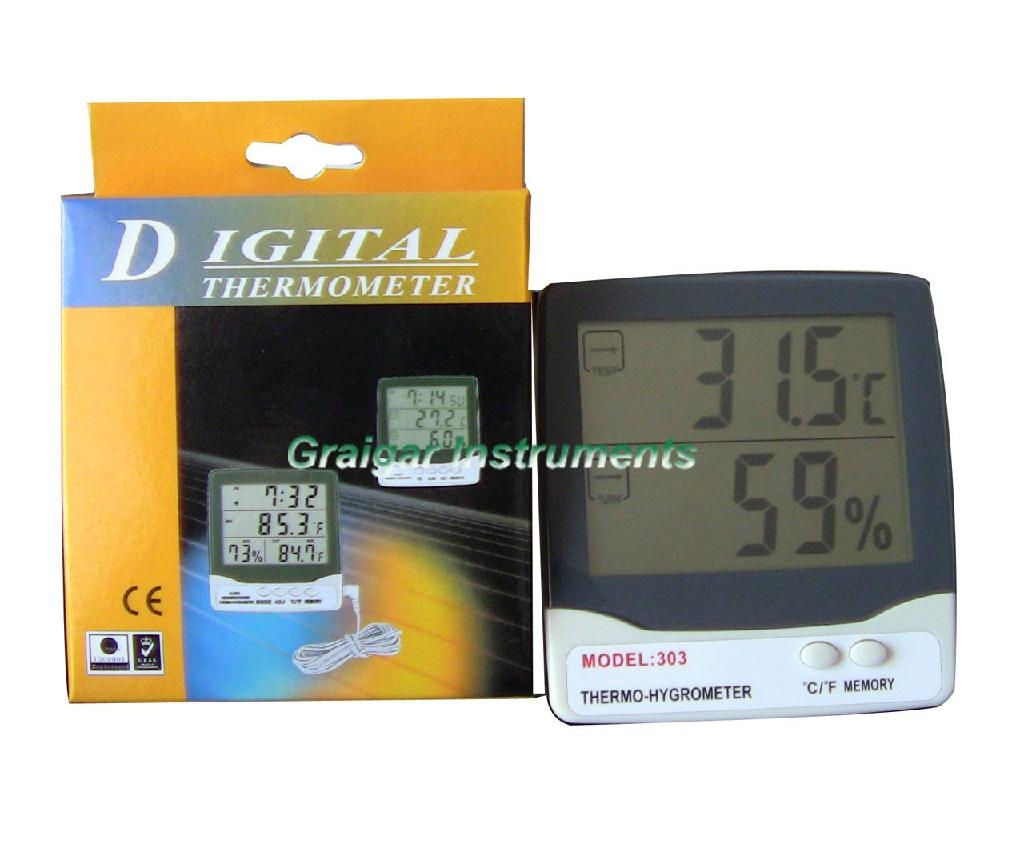 Thermo-Hygrometer GR-303  2