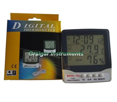 Thermo-Hygrometer GR-302 2