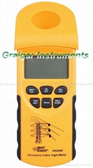 AR600E Digital Ultrasonic Cable Height Meter