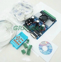 3 axis TB6560 3.5A CNC engraving machine stepper motor driver board 16 segments